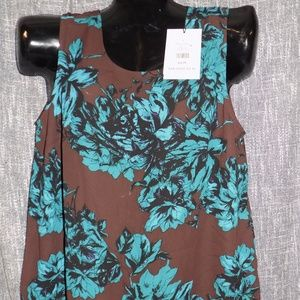 Who What Wear Women's X Sleeveless Blouse Top